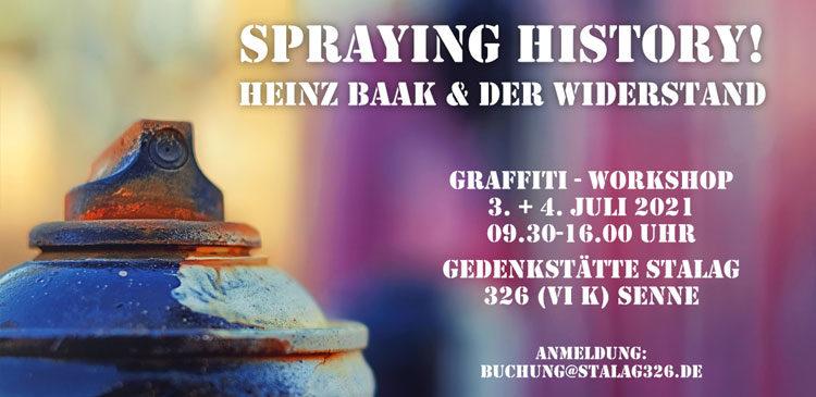 Workshop Spraying History