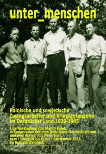 """Digitale Ausstellung """"Unter_Menschen"""" anlässlich des 75. Jahrestages der Befreiung der Kriegsgefangenen"""