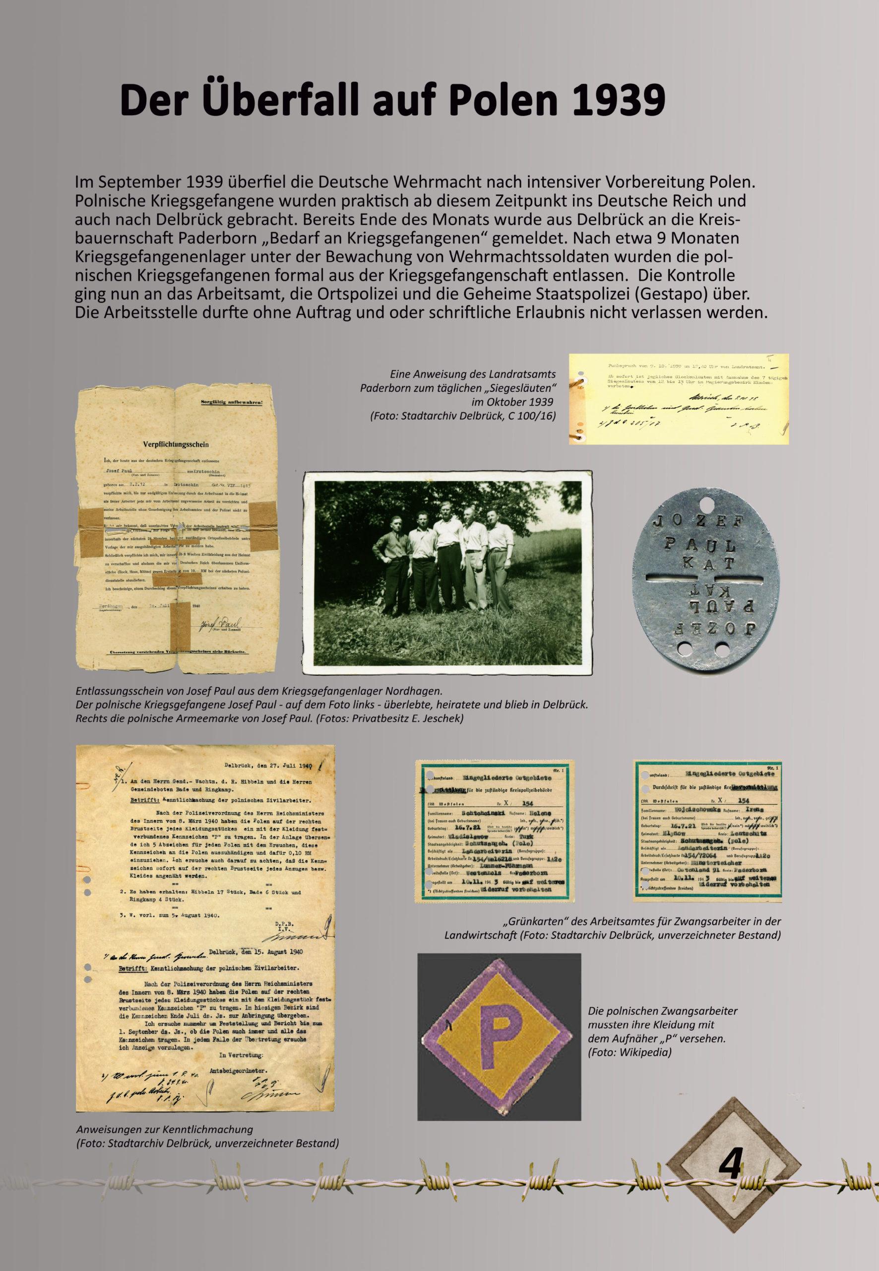 """Digitale Ausstellung """"Unter_Menschen"""" anlässlich des 75. Jahrestages der Befreiung der Kriegsgefangenen – Ausstellungstafel 4"""