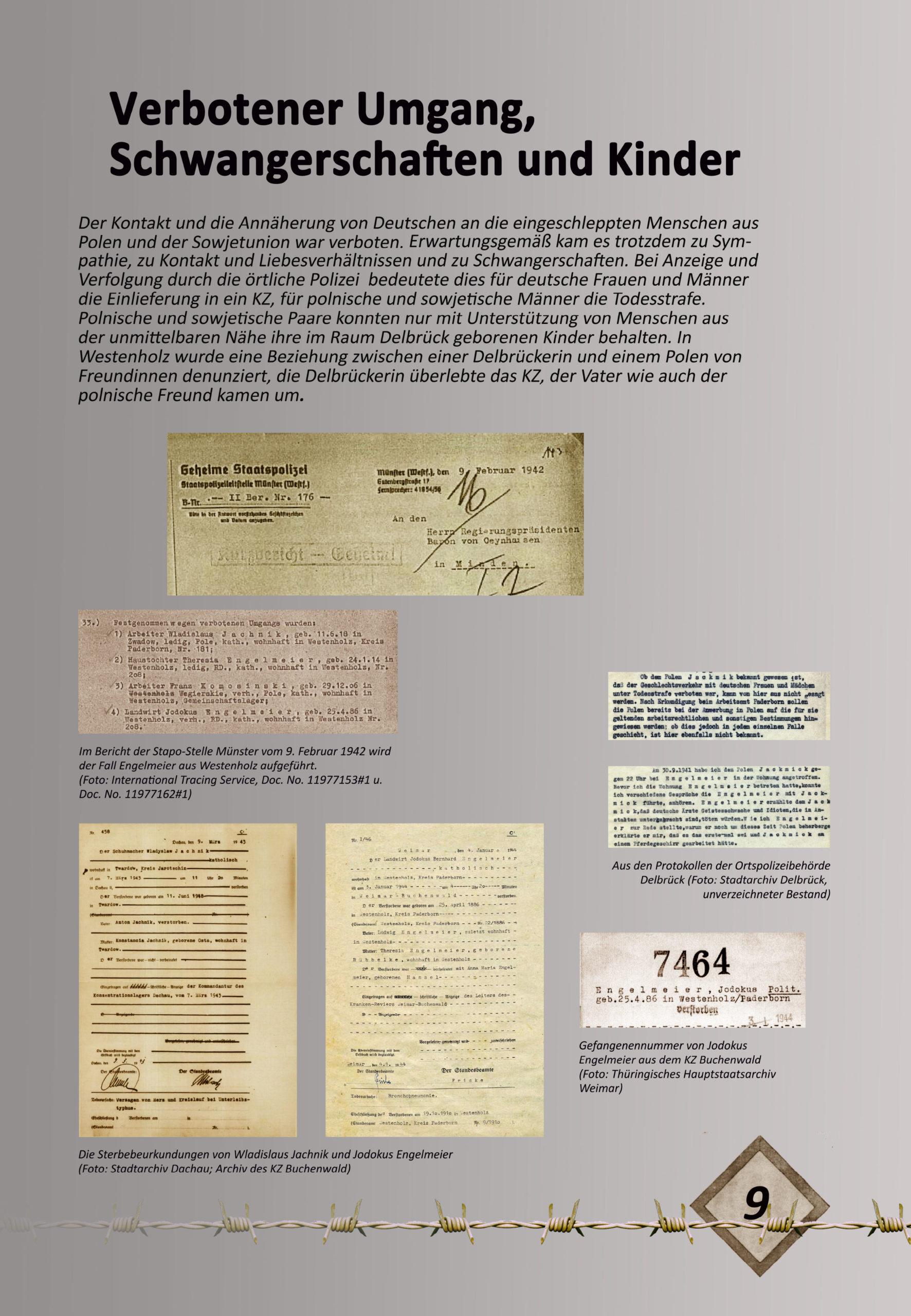 """Digitale Ausstellung """"Unter_Menschen"""" anlässlich des 75. Jahrestages der Befreiung der Kriegsgefangenen – Ausstellungstafel 9"""