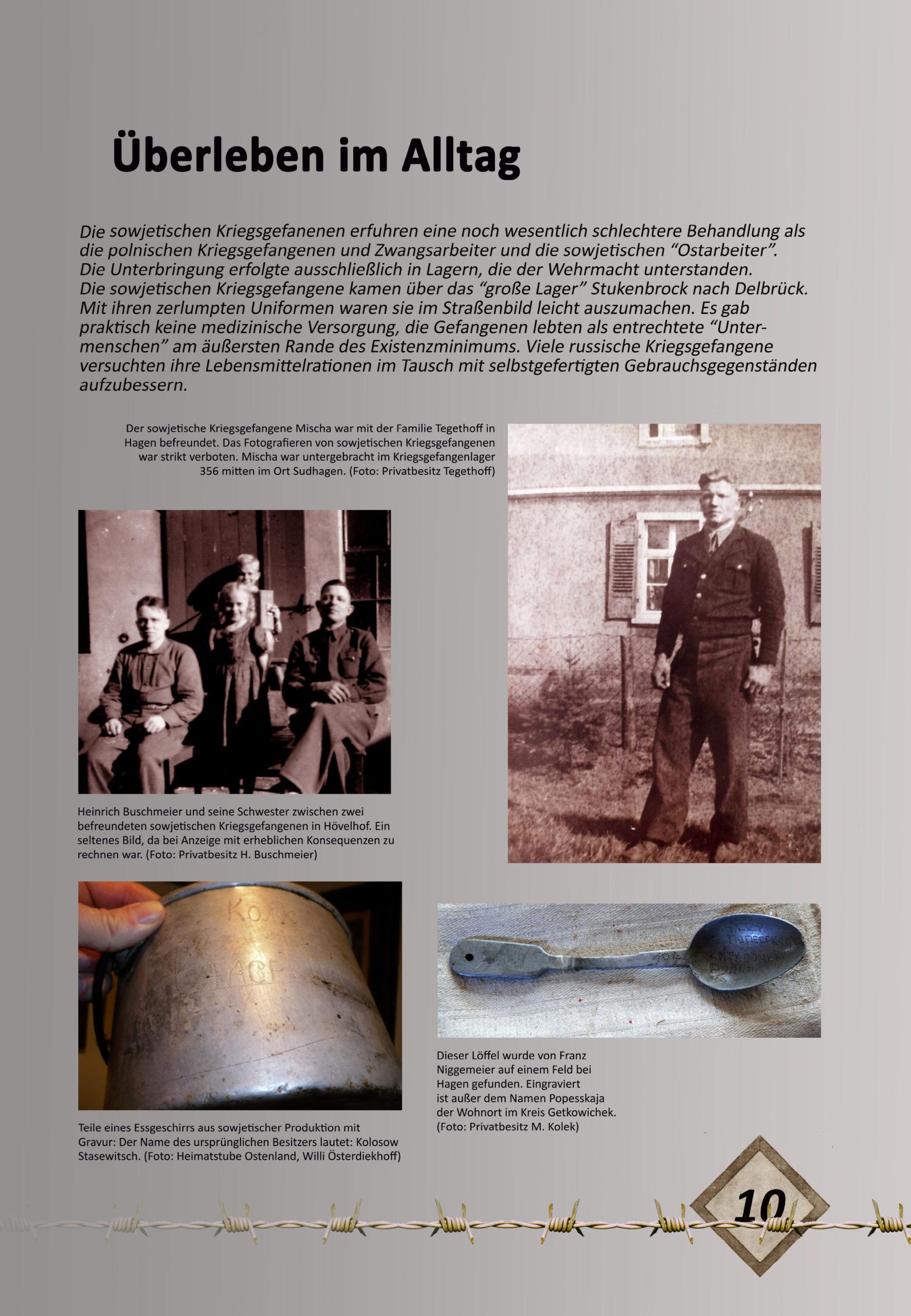 """Digitale Ausstellung """"Unter_Menschen"""" anlässlich des 75. Jahrestages der Befreiung der Kriegsgefangenen – Ausstellungstafel 10"""