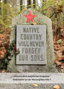 Die Heimat vergisst ihre Söhne nie.